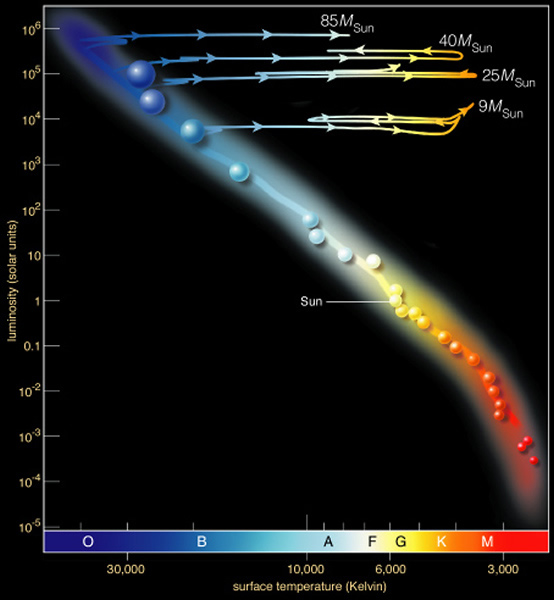 13221617g this story is similar to that of a low mass star just that the energy generation rate is higher and the lifetime is shorter in the diagram above ccuart Image collections