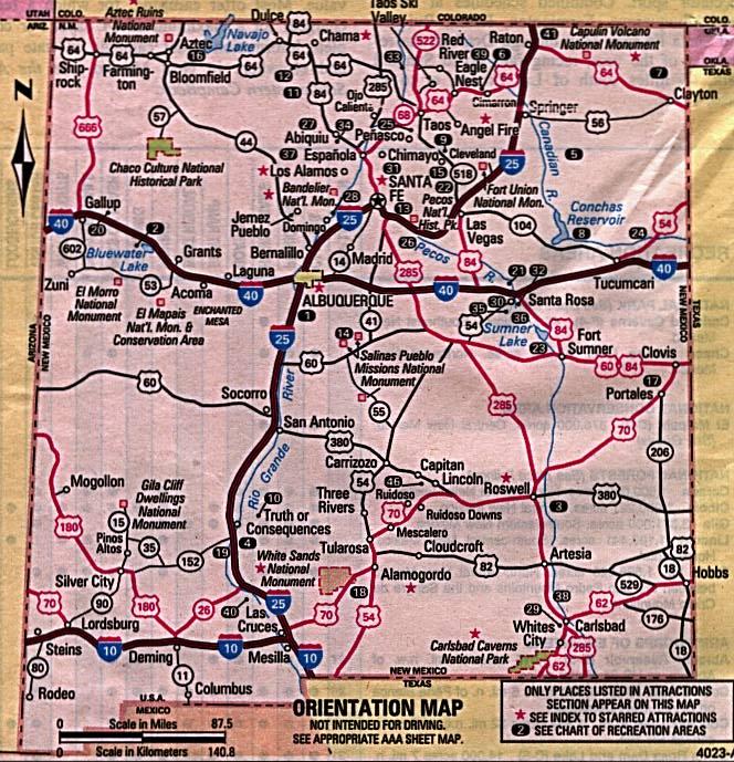 Arizona State Map Pdf.Obryadii00 Physical Maps Of New Mexico